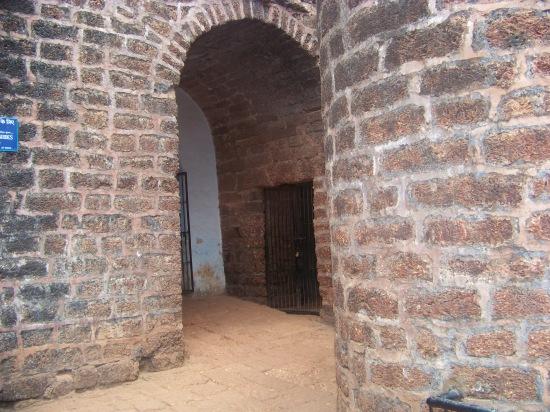 Interior of Fort Aguada, Goa